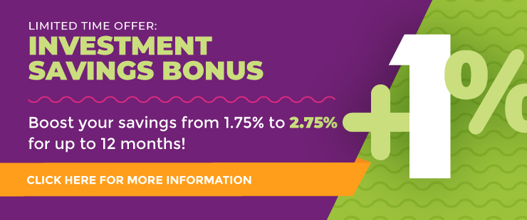 Limited Time Offer: Investment Savings Bonus
